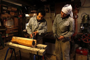 こみずとうたの日記5:木工職人強化合宿だ!