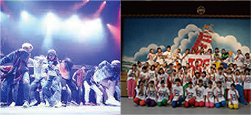 EXPG STUDIOと一条高校ダンス部によるエンタテイメントショウ!