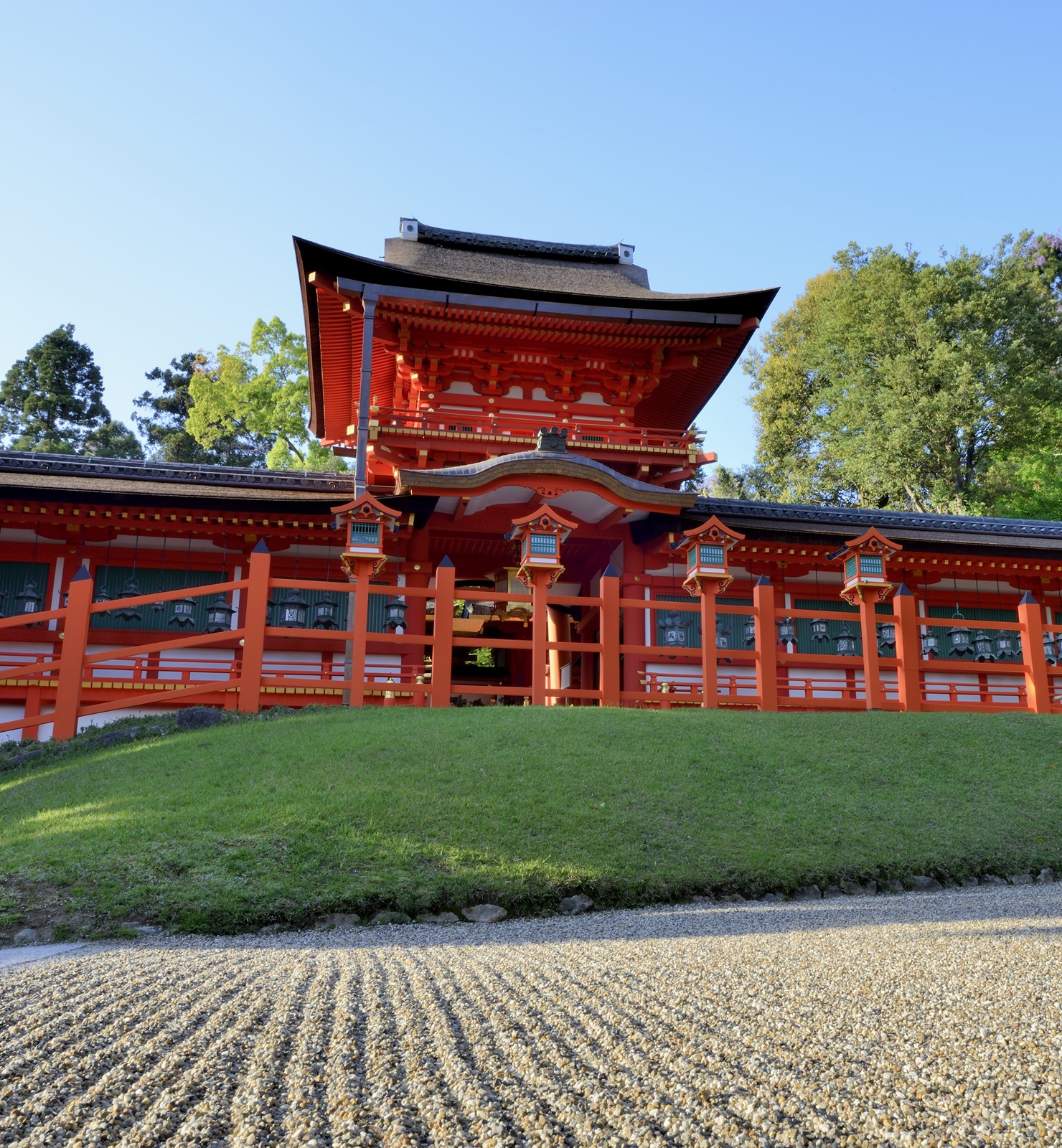 HONO SCREENING AT KASUGA GRAND SHRINE
