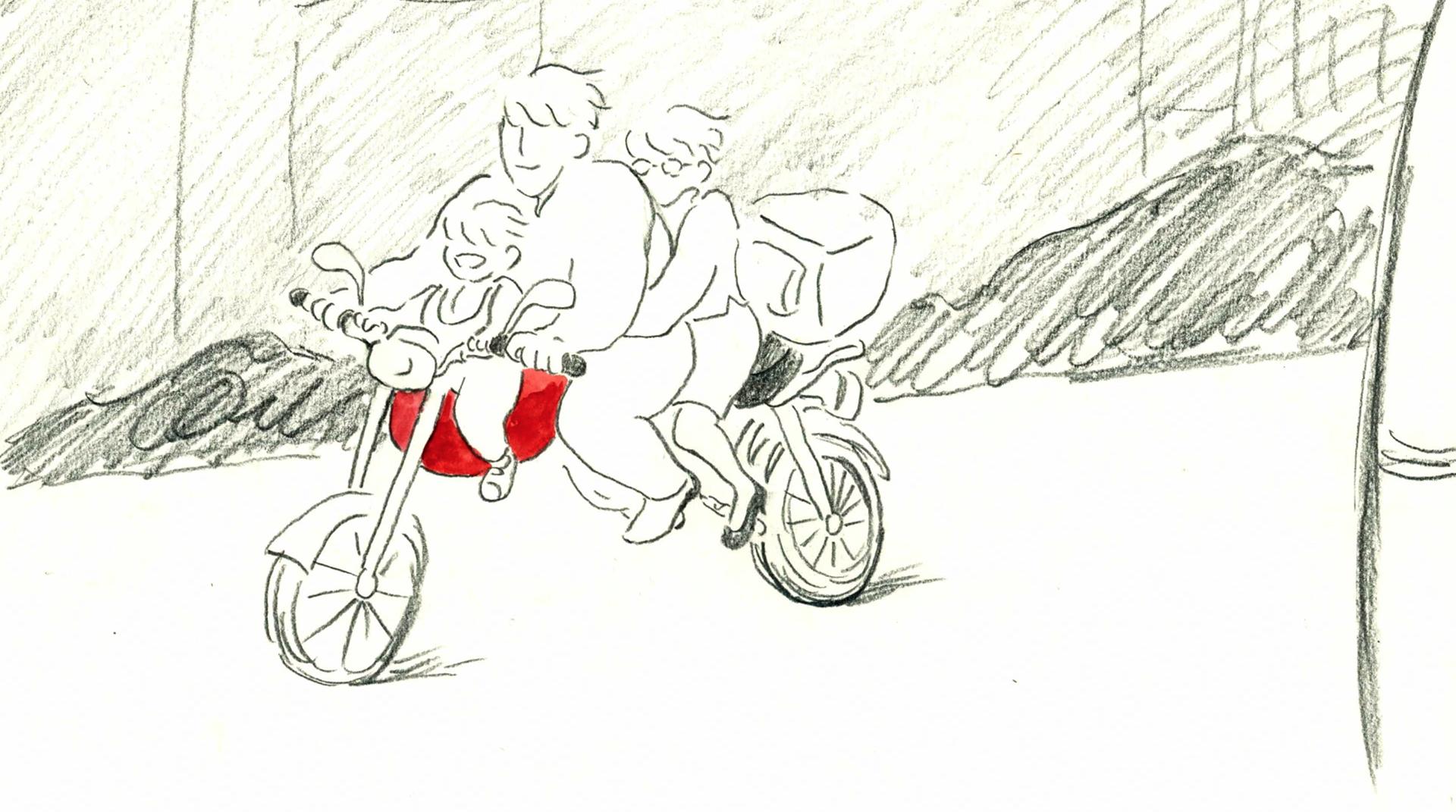 オートバイの物語
